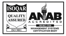 ISOQAR quality assurance seal by the ANAB